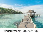 summer  travel  vacation and... | Shutterstock . vector #383974282