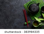 Green Tea And Sushi Chopsticks...