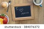 I Love Mom Written In Dutch On...