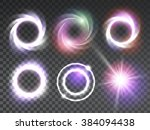 vector special light effects...   Shutterstock .eps vector #384094438