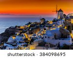 Santorini  Greece   Oia At...