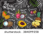 beautiful hand drawn vector... | Shutterstock .eps vector #384099358