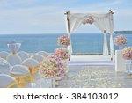 wedding set up | Shutterstock . vector #384103012