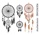 Dreamcatcher And Feather...