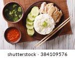 Hainanese Chicken Rice With...