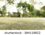 blur city park bokeh background | Shutterstock . vector #384118822