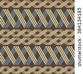 elegant ethnic seamless pattern ...   Shutterstock .eps vector #384134185