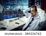 businessman stress failed... | Shutterstock . vector #384226762