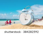 last minute to count down for... | Shutterstock . vector #384282592