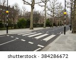 Iconic Zebra Crossing With Two...