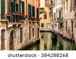 Gondola In Picturesque Venice...