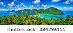Panorama Of Tropical Islands...