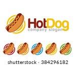 hot dog logo | Shutterstock .eps vector #384296182