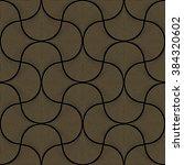 vector abstract seamless wavy... | Shutterstock .eps vector #384320602