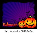 halloween background | Shutterstock .eps vector #38437636