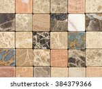 Mosaic From A Natural Stone A...