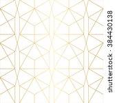 Stock vector  golden texture seamless geometric pattern 384430138