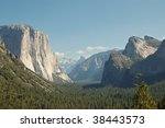 Yosemite Valley From Tunnel...
