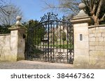 Old Ornate Gateway To An...