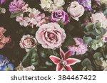 beautiful bouquet flower for... | Shutterstock . vector #384467422