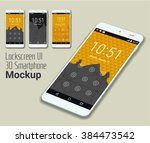 lockscreen mobile ui smartphone ...