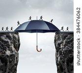 security bridge concept as... | Shutterstock . vector #384476062