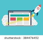 start up vector   Shutterstock .eps vector #384476452