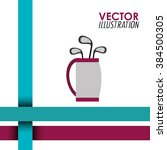 golf club design    Shutterstock .eps vector #384500305