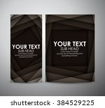 abstract black squares.... | Shutterstock .eps vector #384529225