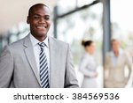portrait of successful young... | Shutterstock . vector #384569536