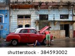 havana  cuba   january 14  2016 ...   Shutterstock . vector #384593002