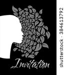 invitation cards for womens | Shutterstock .eps vector #384613792