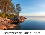 View On Onega Lake Granite...