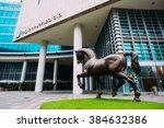 milan  italy   january 10  2016 ... | Shutterstock . vector #384632386
