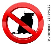No Bull Concept Of A Bull In A...