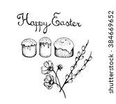 easter symbols | Shutterstock . vector #384669652