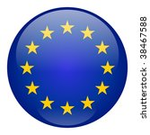 european union button | Shutterstock . vector #38467588