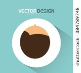 user profile design  | Shutterstock .eps vector #384789748