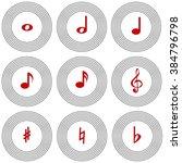 musical notation   Shutterstock .eps vector #384796798