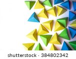 abstract background with blue ...   Shutterstock . vector #384802342