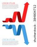 flat infographic. template... | Shutterstock .eps vector #384804712