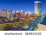 san diego  california cityscape ... | Shutterstock . vector #384814132