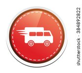 delivery truck icon | Shutterstock .eps vector #384892822