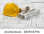 architectural project | Shutterstock . vector #384918796
