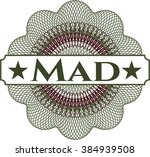 mad abstract rosette