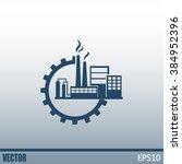 industrial icon | Shutterstock .eps vector #384952396