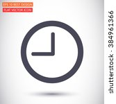 clock  time vector icon | Shutterstock .eps vector #384961366