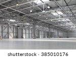 Huge Empty Warehouse