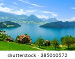 Beautiful View To Lake Lucerne...