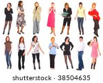 14 people | Shutterstock . vector #38504635